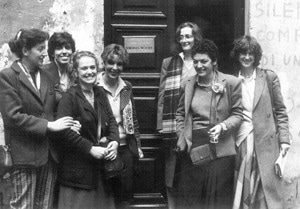 Il gruppo del Virgina Woolf a Roma